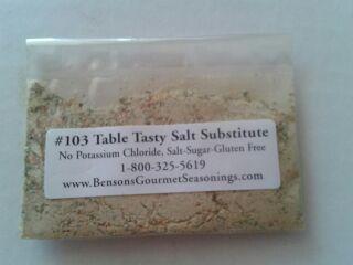 Table Tasty Original Salt Substitute Sample