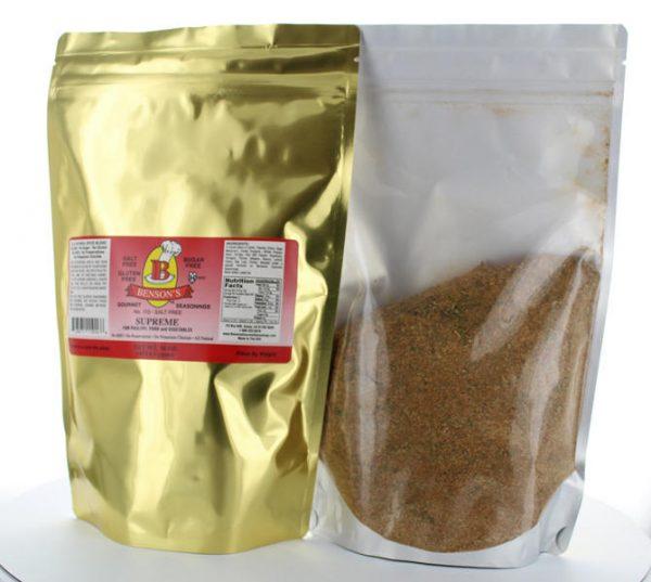Supreme Garlic & Herb Salt Free Seasoning 1 lb Bag