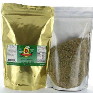 Masterpiece Mediterranean Style Salt Free Seasoning 1 lb Bag